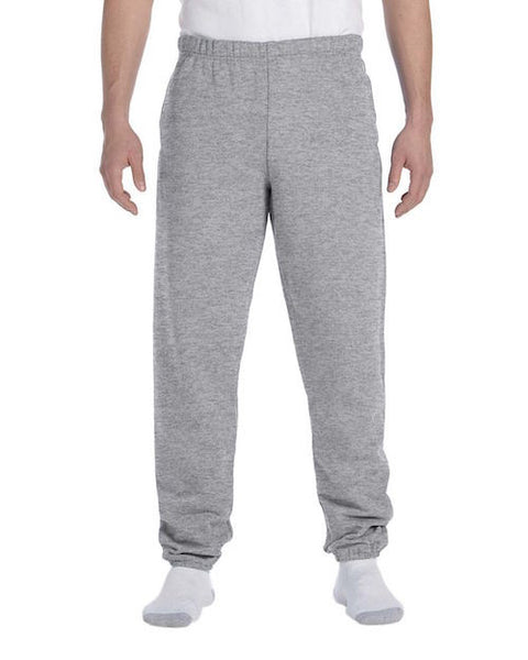 Men's Grey Fleece Stretch Sweatpants