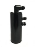 "Black 3"" Dual Inlet PCV Oil Catch Can"