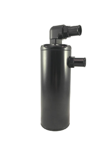 "Black 3"" PCV Oil Catch Can"