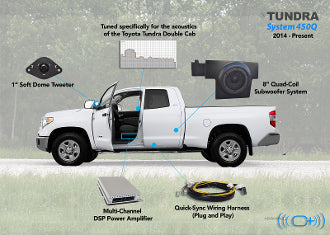 OEM Audio - '14-Present Toyota Tundra Double Cab | System 500Q