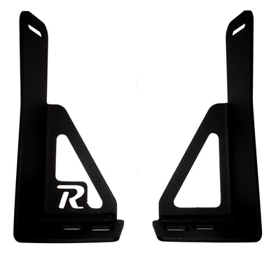 DISCONTINUED - 2014-2019 5th Gen Toyota 4Runner Hidden Bumper Brackets- Stainless Steel