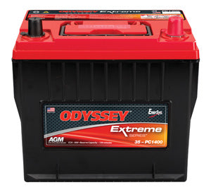 Odyssey Batteries Extreme Series, 820 CCA, Top Post-35-PC1400T Battery, Group 35