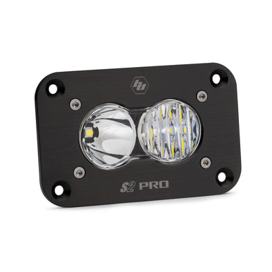 Baja Designs S2 Pro, LED Driving/Combo, Flush Mount