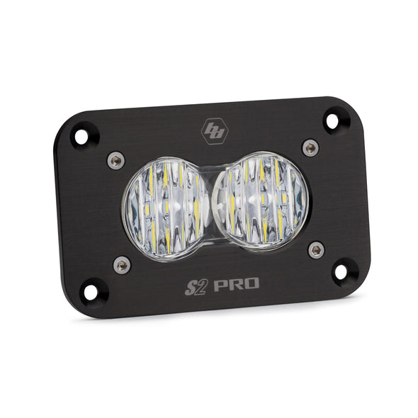Baja Designs S2 Pro, LED Wide Cornering Flush Mount