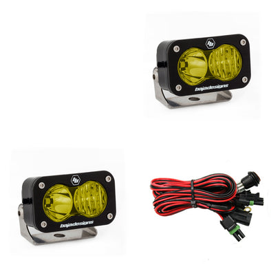 Baja Designs S2 Pro, Pair Driving/Combo, LED, Amber
