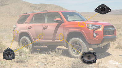 OEM Audio - Toyota 4Runner Speaker Upgrades