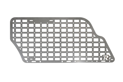 4TH GEN TOYOTA 4RUNNER MODULAR STORAGE PANEL SYSTEM- RAW STEEL