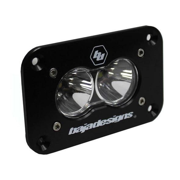 Baja Designs S2 Sport, LED Work/Scene, Flush Mount