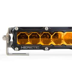 "HERETIC 6 SERIES LIGHT BAR - 30"" Flood, Amber"