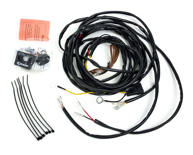 UNIVERSAL WIRING HARNESS FOR 2 CYCLONE LED LIGHTS - #63082