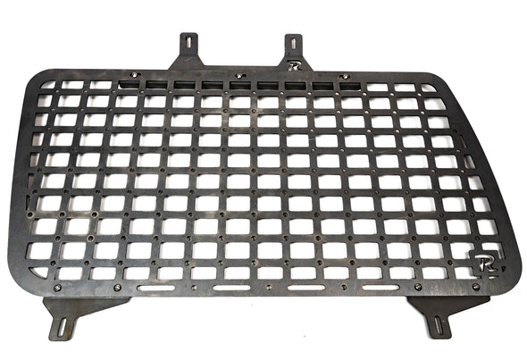1990 - 1997 LAND CRUISER 80 SERIES - MODULAR STORAGE PANELS - RAW STEEL