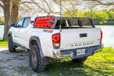 **RAW STEEL** 2nd & 3rd Gen Tacoma | Endeavor Bed Rack