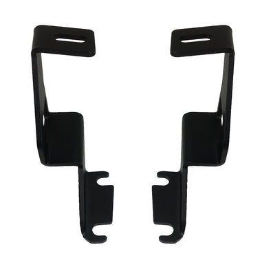 BLEMISHED Toyota FJ Cruiser Ditch Light Brackets - Stainless Steel