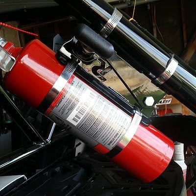 Fire Extinguisher Quick Release - Rago Fabrication