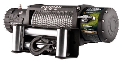 IRONMAN 4X4 - MONSTER WINCH 12000LBS 12V ELECTRIC (STEEL CABLE)