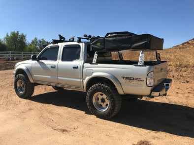 1995-2003 1st Gen Toyota Tacoma Mid-Level Rugged Bed Rack - Rago Fabrication