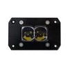 HERETIC 6 SERIES LIGHT BAR - BA-2: Flush Mount Pair W/ Harness- Spot, Clear