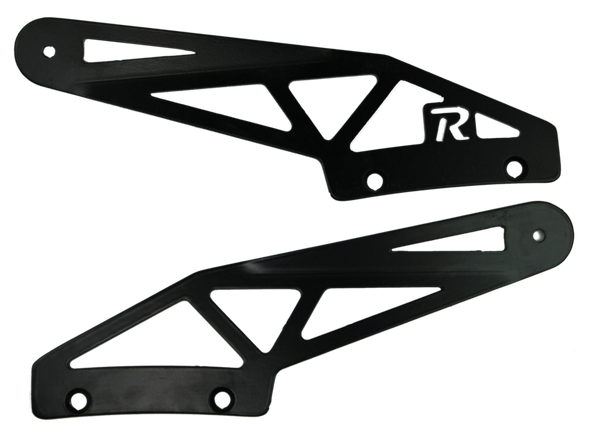 "BLEMISHED '99-'04 Jeep WJ 52"" Curved Brackets"