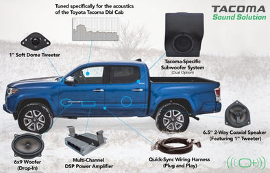 OEM Audio - 2016-Present Toyota Tacoma Double Cab | Reference 500