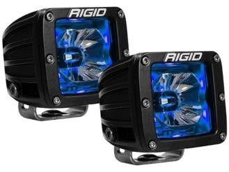 Radiance White Back-Light Pods - Blue - Rago Fabrication