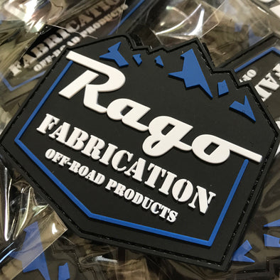 Rago Mountains PVC Patch - Rago Fabrication