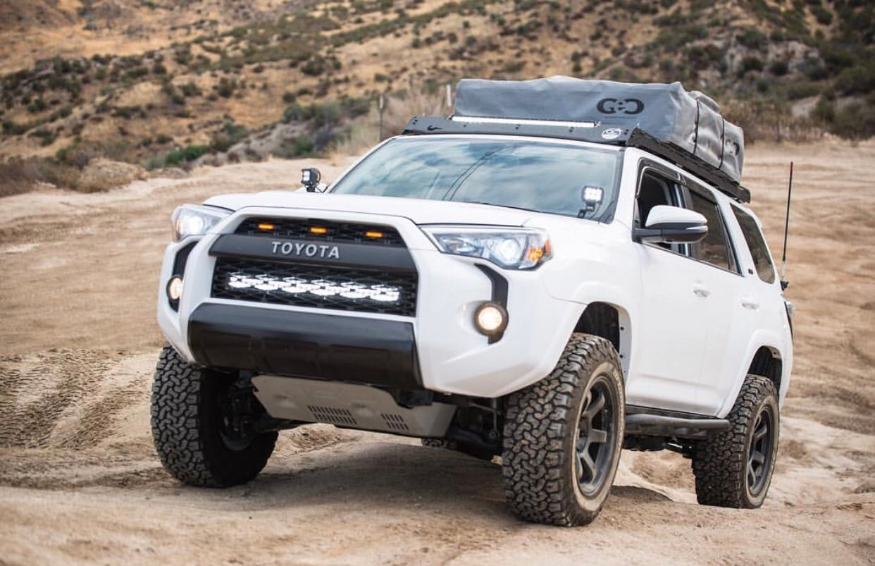 2014 2018 5th gen toyota 4runner hidden bumper brackets stainless the rago promise mozeypictures Image collections