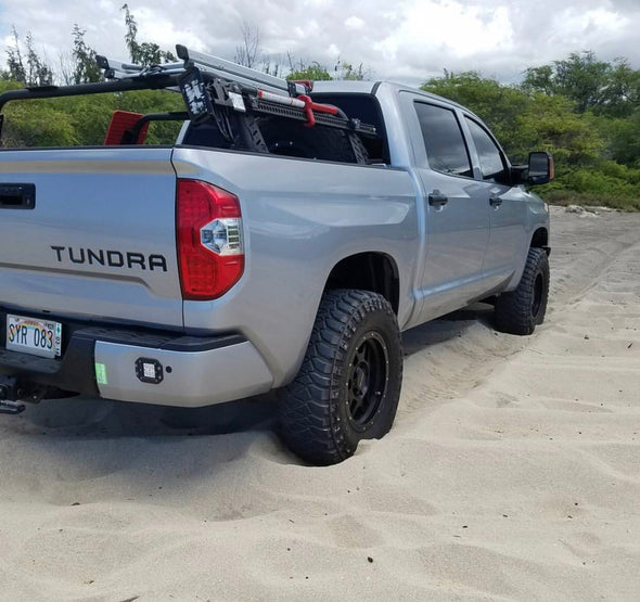 Toyota Tundra Mid-Level Rugged Bed Rack - Rago Fabrication