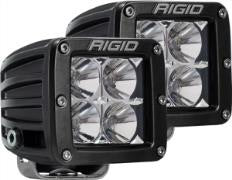 Rigid D-Series Dually Flood LED Light - Pair - RIG202113 - Rago Fabrication