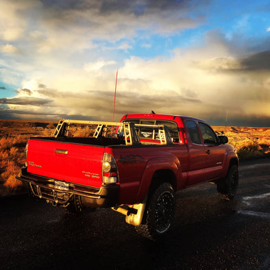 Toyota Tacoma EXTREME Mid-Level Overland Bed Rack - Rago Fabrication