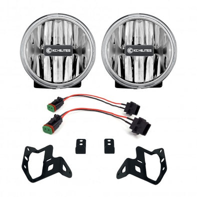 Gravity® LED G4 Amber Fog Lights for Jeep Wrangler JL & Gladiator JT Sport-S-Altitude Bumper - #508