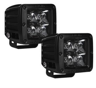 Rigid Industries D-Series Midnight Optic Spot Light (Black) - Rago Fabrication