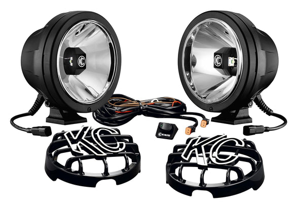 KC HiLites PRO-SPORT WITH GRAVITY® LED G6 PAIR PACK SYSTEM - Rago Fabrication