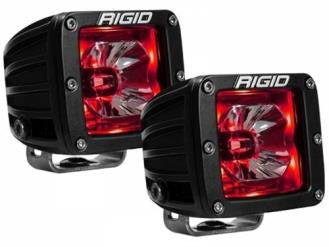 Radiance White Back-Light Pods - Red - Rago Fabrication