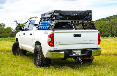 3rd Gen Tundra | Endeavor Bed Rack | Raw Steel