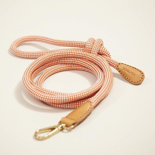 Howlpot Leash in German Orange