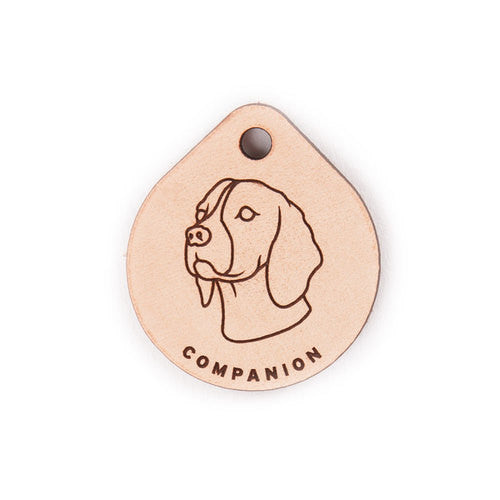 Leather Tag - Beagle