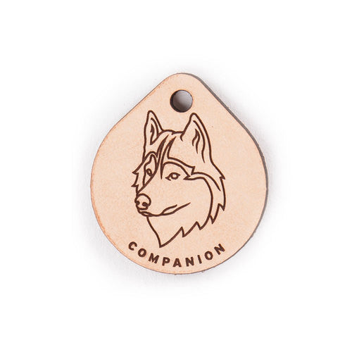 Leather Tag - Siberian Husky