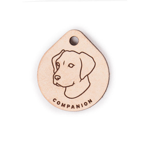 Leather Tag - Labrador Retriever