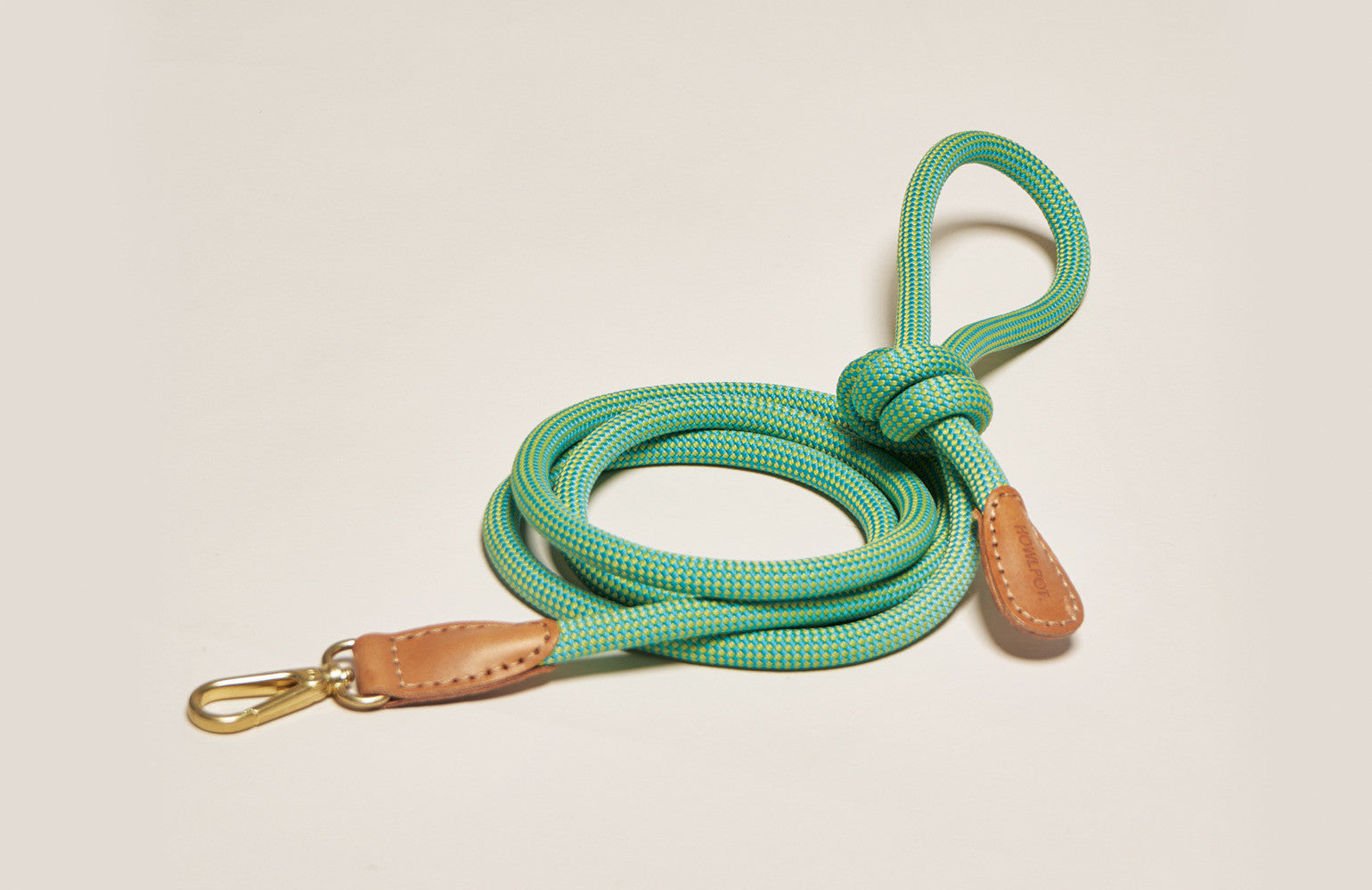 Howlpot Leash in Palm Tree