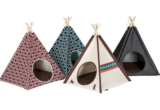 Pet Teepee (Moroccan Navy Blue)