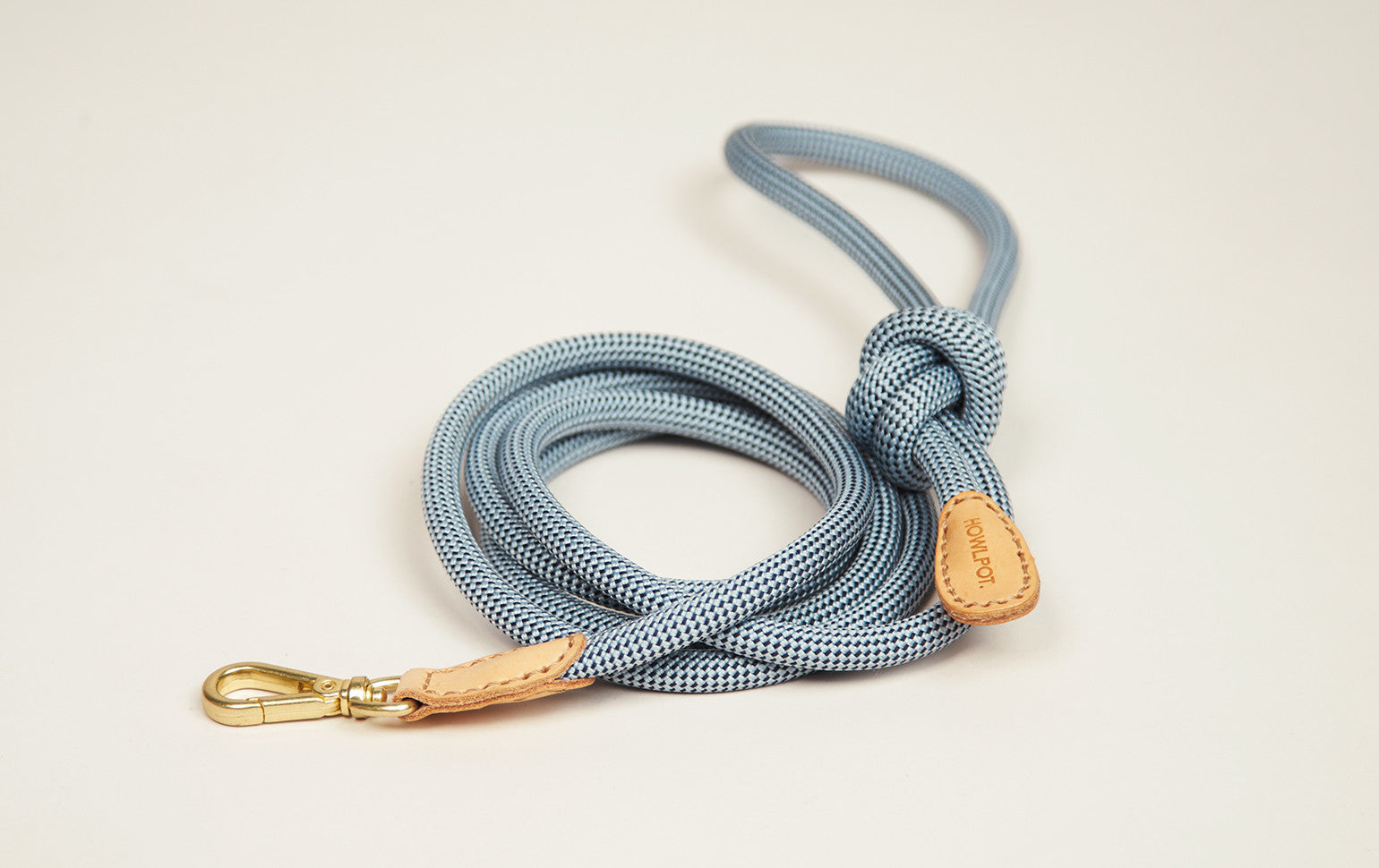 Howlpot Leash in Alaskan Blue