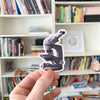 Microscope Sticker - Sandra Black Culliton