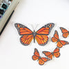 Monarch Vinyl Stickers - Sandra Black Culliton