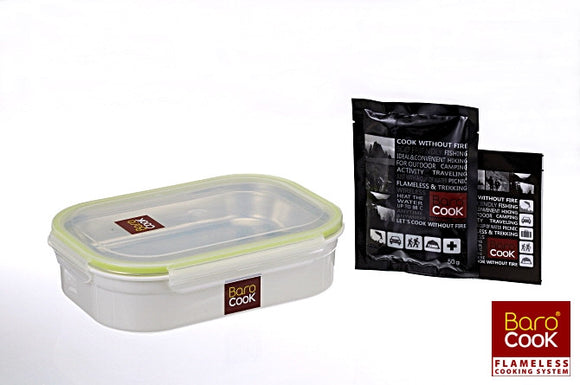 BC-005 (1000ml)  Rectangular Container