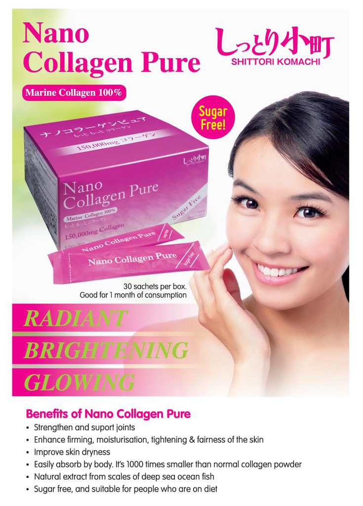 Nano Collagen Pure Powder