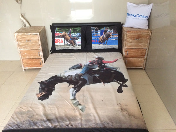Euro King Size......240cm x 220cm..... with 2 printed pillows