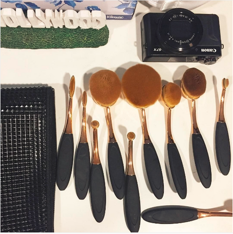 makeup brush set