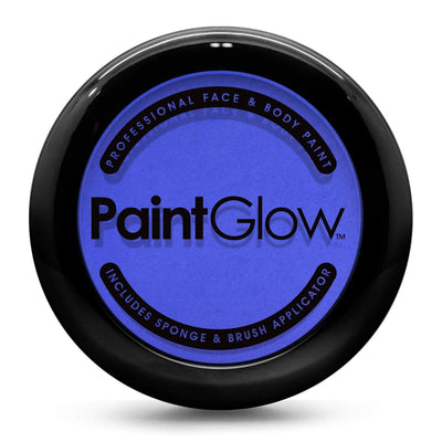 Face Paint Cake - Blue (10g) Face Paint Paint Glow