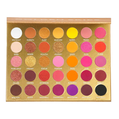 Golden Skies - 35 Shade Sunset Palette