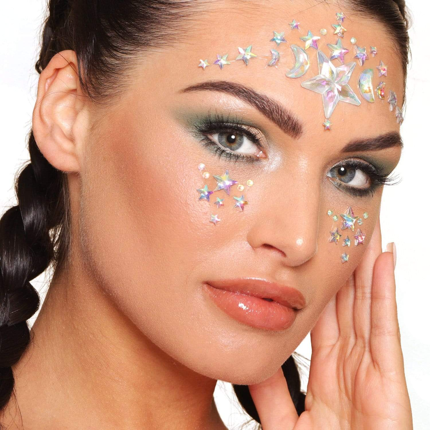 Festival Face Jewels - Starry Eyed - Jolie Beauty (4457542647883)